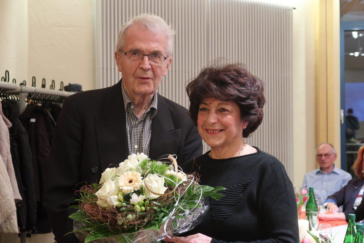 Georg Stolle und Pina Kittel